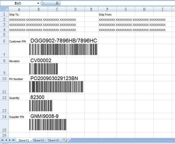 Easiersoft Free Bulk Barcode Generator Software Use Excel Data